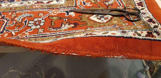 Teppichkante reparieren